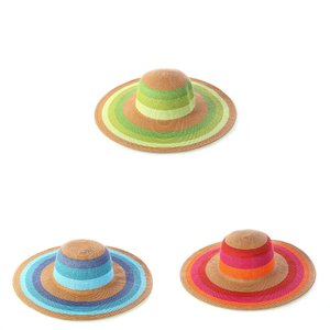 Slamený klobúk z rafie Kbas KB255204