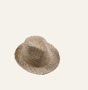 856bc8aae Dámsky slamený klobúk Kbas prešívaný 255214-1