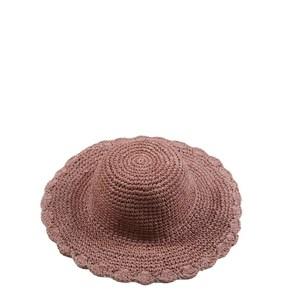 Dámsky klobúk zo syntetickej rafie jednofarebný Kbas rôzne farby