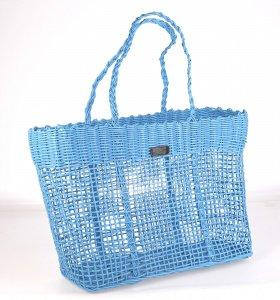Dámský košík Kbas z PVC materiálu tyrkysový 285609TU