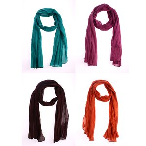 Šátek z bavlny Kbas KB286306
