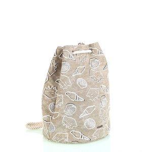 Bavlněný batoh s uzavíráním Kbas béžový KB296907BE