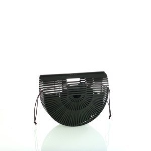Dámska kabelka z bambusu do ruky Kbas tmavozelená 327803V