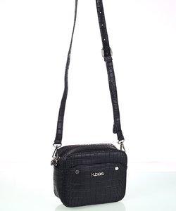 Dámska kabelka cez rameno eko koža Kbas čierna