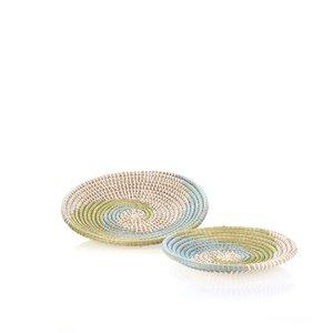 Set 2 košíkov z morskej trávy Kbas KB330641