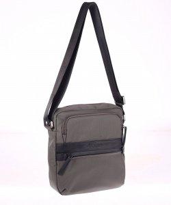 Pánská taška přes rameno z nylonu Kbas šedá