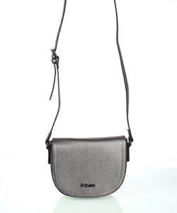 Dámska kabelka cez rameno Kbas strieborná