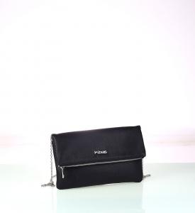 Dámska listová kabelka z eko kože Kbas čierna 338410N