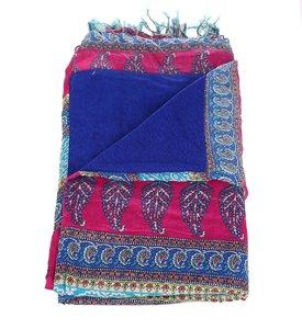 Pareo z bavlny Kbas modré KB342709
