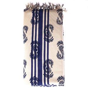 Pareo/ručník z bavlny Kbas se vzorem KB342819